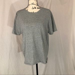 Hurley SS gray large tee Nike dry fit